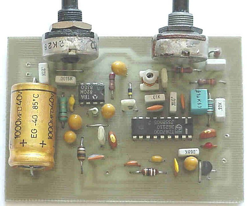 Receiver for FM radio band 88-108 MHz