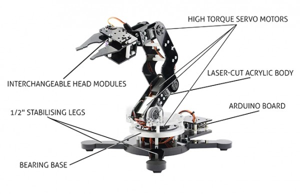 how to build a robotic arm for kids