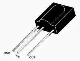 TSOP1738-pin-diagram