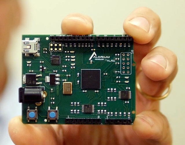 Xlr arduino compatible fpga based application