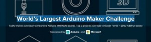 Arduino Maker Challenge extended to 31st January!