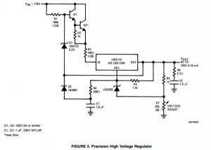 App note: High voltage adjustable power supplies