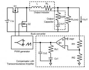 Stabilize the Buck Converter with Transconductance Amplifier