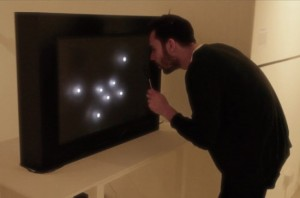 "Visualizing ""data visualization"" with Leds and bubbles"