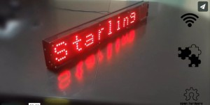 Starling – WiFi enabled LED Display