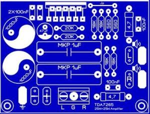TDA7265 2X25Watt Audio AMplifier