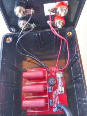 Capacitive battery charger