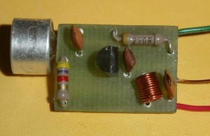 Simple Miniature FM Transmitter