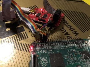 Using a Bus Pirate to connect to a Raspberry Pi