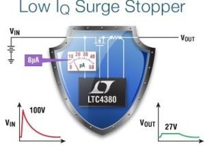 LTC4380 – Low Quiescent Current Surge Stopper