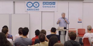 """Electronics for the Humanities"" keynote at Arduino Day"