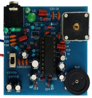 A DIY FM stereo transmitter using famous BA1404 chip