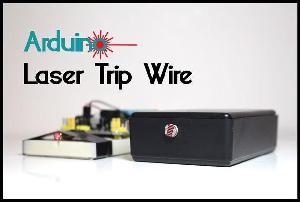 Arduino laser tripwire alarm system electronics infoline