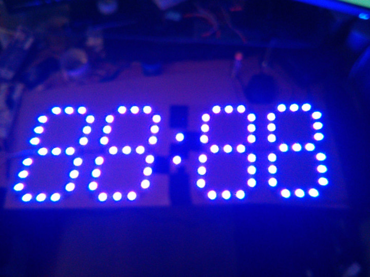 Arduino Led Wall Clock Using Ws2811 Electronics Infoline
