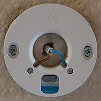 Nest Learning Thermostat 3rd Gen Hot Water Installation 12